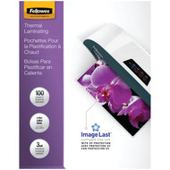Fellowes 52454 Letter Laminating Pouches, 100 pk (3mil)