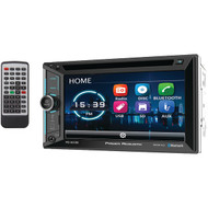 """Power Acoustik PD-623B 6.2"""" Incite Double-DIN In-Dash DVD Receiver with Bluetooth"""