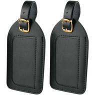 Travel Smart P2010X Leather Luggage Tags, 2 pk