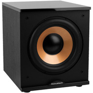 "BIC America H-100II 500-Watt Acoustech 12"" Front-Firing Powered Subwoofer with Black Lacquer Top"