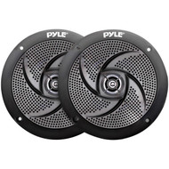 Pyle PLMRS4B 4-Inch 100-Watt Low-Profile Waterproof Marine Speakers