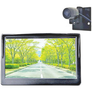 BOYO Vision VTC500DIY DIY 5-Inch Rearview Monitor and Compact Bracket-Mount Behind-License-Plate Camera