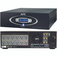 APC J15BLK 12-Outlet J-Type Power Conditioner with Battery Backup (Black; 4,500 Joules; 1,500VA; 865 Watts)