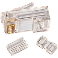 IDEAL 85-366 CAT-6 RJ45 Mod Plug Card of 25
