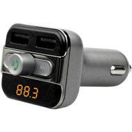 Supersonic IQ-225BT Bluetooth FM Transmitter with Dual USB and Multifunction Knob