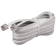 RCA TP231WHR White Phone Line Cord (15ft)