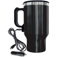 Brentwood Appliances CMB-16B 16-Ounce Electric Coffee Mug with Wire Car Plug