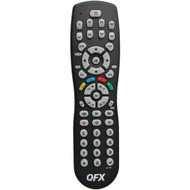 QFX REM-8 8-in-1 Universal Remote with Glow-in-the-Dark Buttons