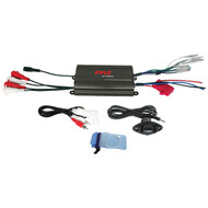 Pyle PLMRMP3B Hydra Series 4-Channel 800-Watt Waterproof Micro Marine Class AB Amp
