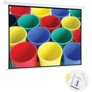 "Pyle PRJELMT106 Motorized Projector Screen (100"")"