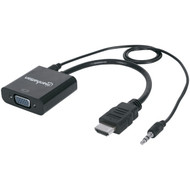 Manhattan 151559 HDMI Male to VGA Female Converter with Audio