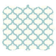 Fellowes 5919001 Designer Mouse Pad (Teal Lattice)
