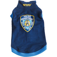 Royal Animals 13Z1005R NYPD Dog Sweatshirt (X-Small)
