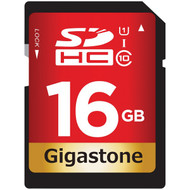 Gigastone GS-SDHC80U1-16GB-R Prime Series SDHC Card (16GB)