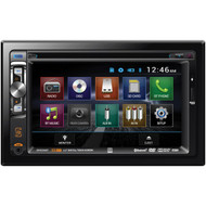 """Dual XDVD256BT 6.2"""" Double-DIN In-Dash DVD Receiver with Bluetooth"""