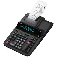 CASIO DR120R-BK 12-Digit Large Desktop Printing Calculator