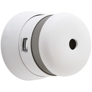First Alert 1039765 Atom Micro-Photoelectric Smoke Alarm with 10-Year Sealed Battery