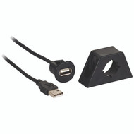 Axxess AX-FMUSBEXTCB Male to Female USB Cable with Mount