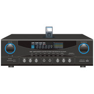 Pyle Home PT4601AIU 500-Watt Stereo Receiver with iPod Dock