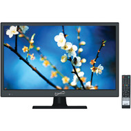 """Supersonic SC-1511 15.6"""" 720p LED TV, AC/DC Compatible with RV/Boat"""