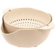 Gourmet By Starfrit 080281-006-0000 ECO Small Colander and Bowl