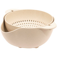 Gourmet By Starfrit 080282-006-0000 ECO Large Colander and Bowl