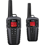 Uniden SX377-2CKHS 37-Mile 2-Way FRS/GMRS Radios (Gray)