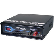 Pyramid Car Audio PSV300 30-Amp Heavy-Duty Switching Power Supply with Cooling Fan