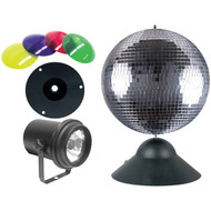 ADJ MB 8 COMBO Mirror Ball Combo