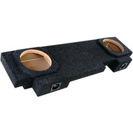 "Atrend A192-10CP BBox Series 10"" Dual Downfire Enclosure for GM Avalanche or Escalade 2002 & Up"