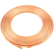 No Logo 6363204859800 Copper Refrigeration Tubing, 50-Foot Roll (1/4-Inch)