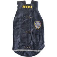 Royal Animals 13Z1009R NYPD Water-Resistant Dog Coat (X-Small)