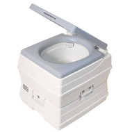 Dock Edge Passport Potty Portable Toilet - Grey - 18L [DEF150101]