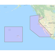Furuno U.S. West Coast, Hawaii  Baja Mexico - Vector Chart, Standard Resolution Satellite Photos f\/Baja Mexico - Unlock Code [MM3-VNA-024]