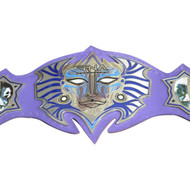 TNA Jeff Hardy Immortal Replica Belt Adult Size, Metal Plates,Leather Strap