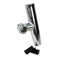 "C.E. Smith Adjustable Mid Mount Rod Holder Aluminum 1-1\/4"" or 1-5\/16"" w\/Sleeve  Hex Key [53771]"