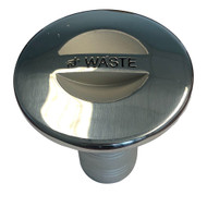 """Sea-Dog Stainless Steel Key Free Hose Deck Fill Fits 1-1\/2"""" Hose - Waste [351383-1]"""