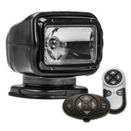Golight Radioray GT Series Permanent Mount - Black Halogen - Wireless Handheld  Wireless Dash Mount Remotes [2057GT]