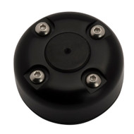 Seaview Cable Gland w\/Cover - Black Powder Coated - Stainless Steel Wire - Size 2-10mm [CG20SB]