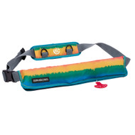 Bombora 16oz Inflatable Belt Pack - Rasta [RST1619]