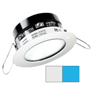 i2Systems Apeiron PRO A503 - 3W Spring Mount Light - Round - Cool White  Blue - White Finish [A503-31AAG-E]