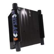 "T-H Marine ATLAS 12"" Set Back Hydraulic Jack Plate - Gloss Black Anodized [AHJ-12V-B-DP]"