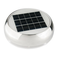 "Marinco 4"" Day\/Night Solar Vent - Stainless Steel [N20804S]"