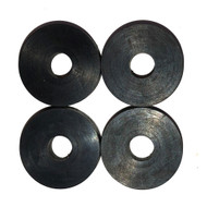 KVH Rubber Mounting Pad TV3 w\/4 Pads [S24-0201]