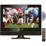 """Supersonic SC-1312 13.3"""" 720p Widescreen LED HDTV/DVD Combination, AC/DC Compatible with RV/Boat"""