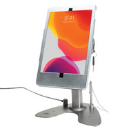 CTA Digital PAD-ASK10 Dual Security Kiosk Stand with Locking Case and Cable for iPad 10.2-Inch 7th Generation