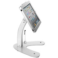 CTA Digital PAD-ASK Antitheft Security Kiosk Stand with Locking Case & Cable for iPad Gen. 5 (2017), iPad Gen. 6 (2018), iPad Air, and iPad Pro 9.7