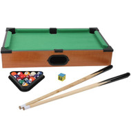 Cannon Ball Games CB003 Tabletop Pool Table Set