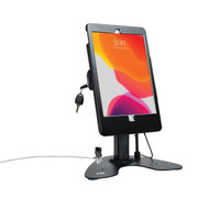 CTA Digital PAD-ASKB10 Dual Security Kiosk Stand with Locking Case and Cable for 10.2-Inch iPad (Black)