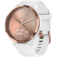 Garmin 010-01850-12 vivomove HR Sport (Rose Gold with White)